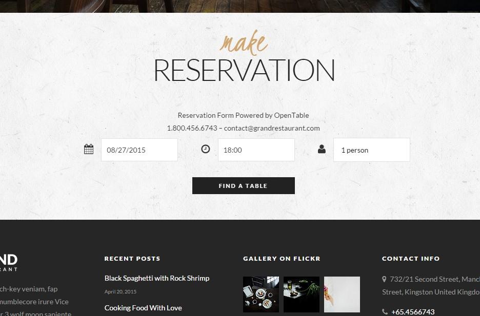 systeme de reservation simple