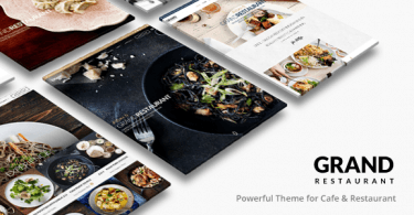 theme wordpress grand restaurant