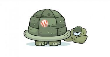 wordpress lent accélérer tortue
