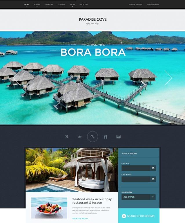 créer un site reservation hotel wordpress