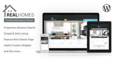 theme wordpress agence immobiliere real homes
