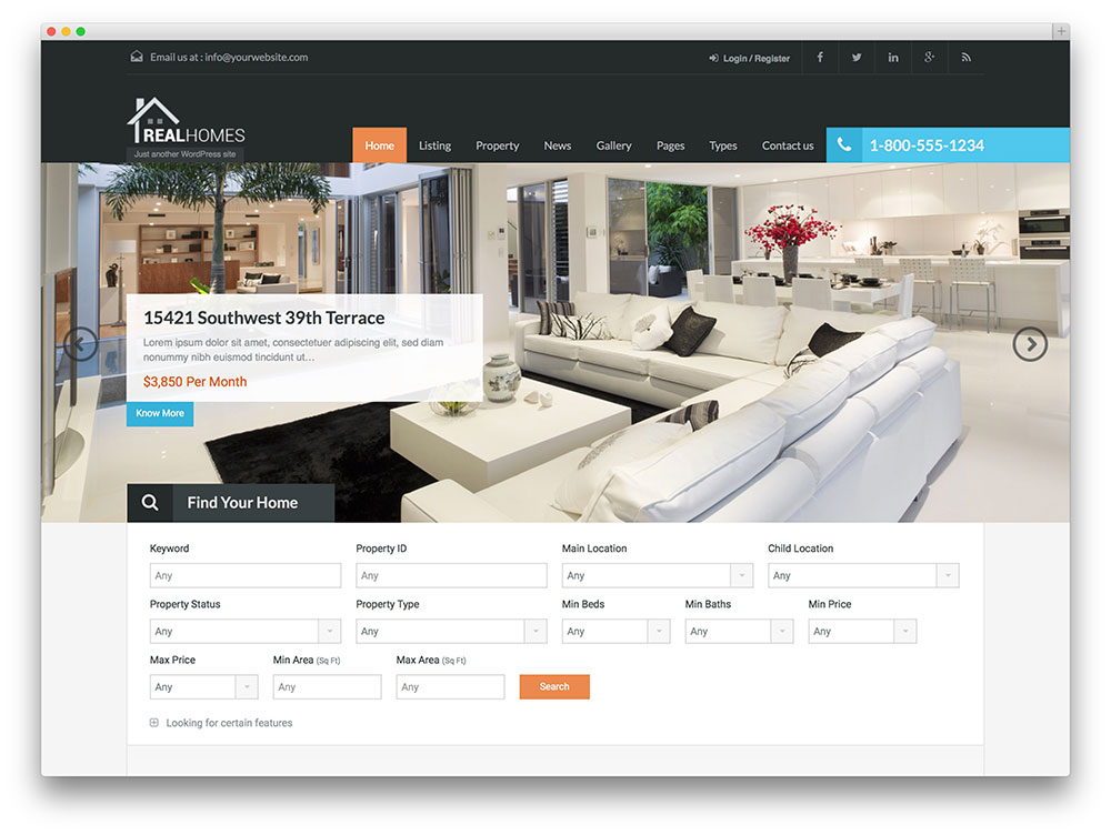 themes wordpress agence immobiliere
