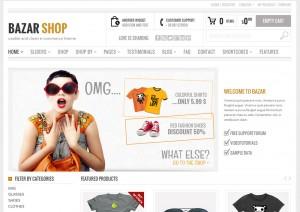 Theme bazar creer une boutique en ligne