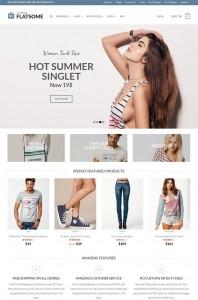 theme boutique en ligne wordpress ecommerce flatsome