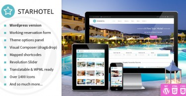 creer un site reservation hotel wordpress