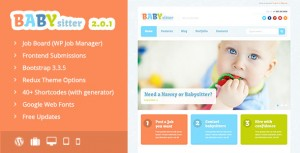 creer un site petite annonce baby sitting wordpress