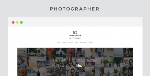 theme wordpress photographer