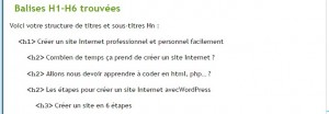 analyse balise title d'une page