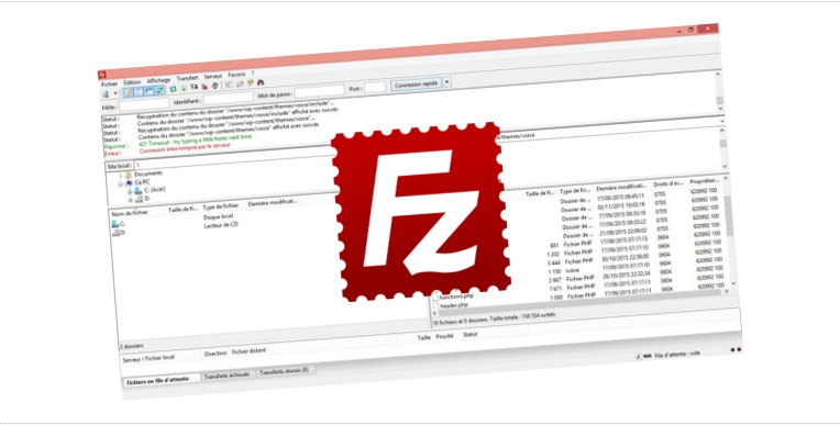 ftp filezilla