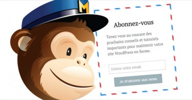 creer un formulaire abonnement newsletter wordpress mailchimp