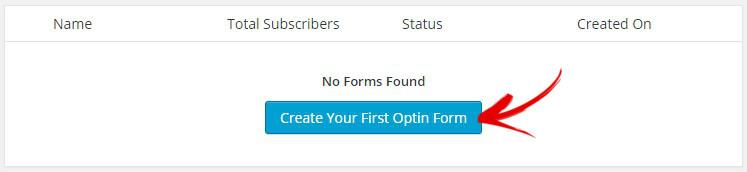 creer un formulaire mailchimp fors