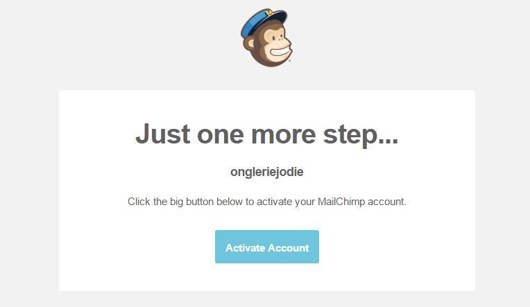 mail confirmation mailchimp
