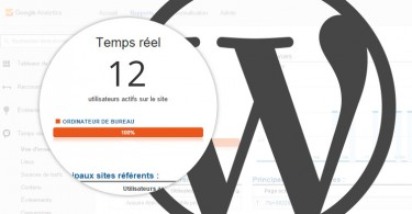 statistiques trafic analytics wordpress