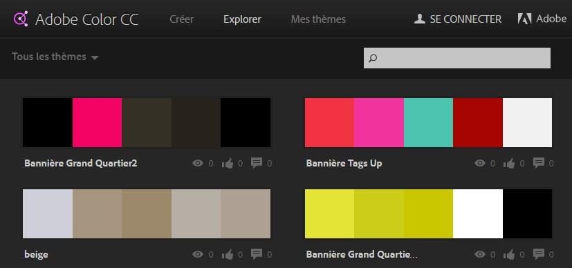 choix couleur site