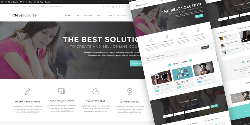 clever-course-wordpress-template
