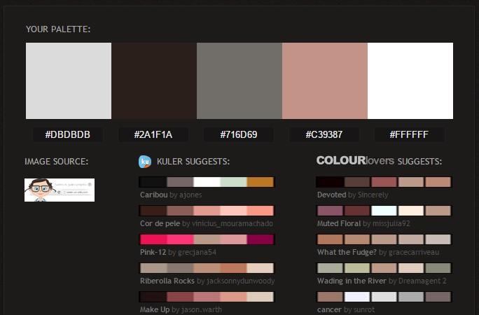 obtenir couleur palette image