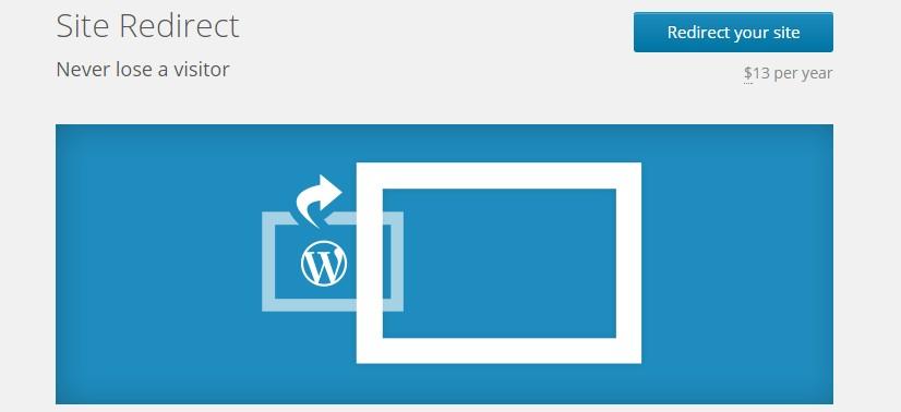 plugin redirect your site wordpress com