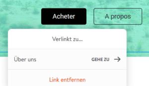 Ajouter un lien sur un bouton avec Jimdo