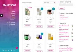 creer boutique en ligne wordpress theme