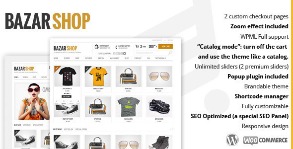 thème wordpress boutique en ligne
