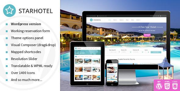creer un site reservation hotel wordpress