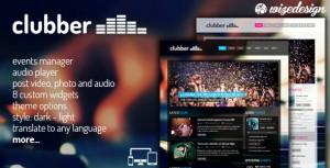 theme wordpress créer site musique discothèque