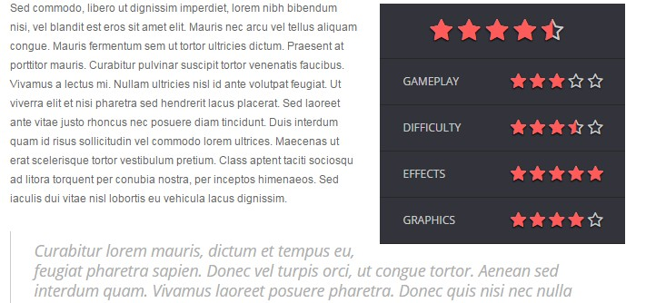 vote magazine test jeux video wordpress