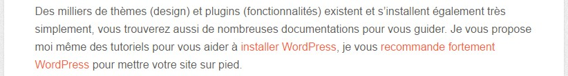 lien interne article wordpress