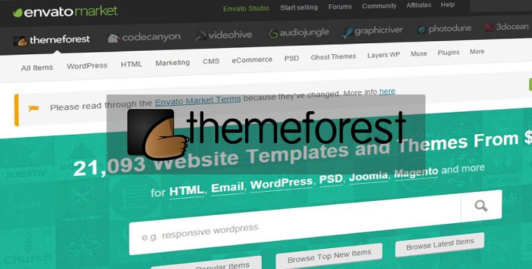Comment choisir un thème payant sur Themeforest