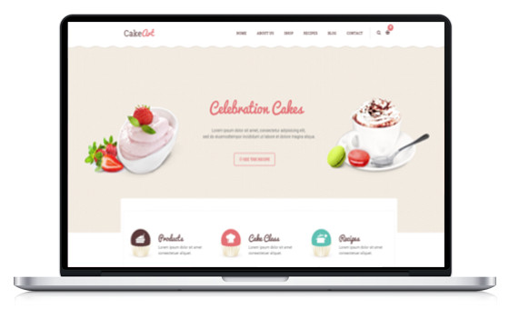 theme wordpress recette de cuisine culinaire