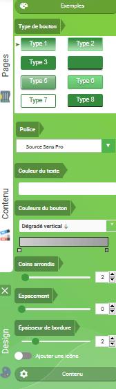 Améliorer le design d'un bouton d'appel à l'action sur son site web avec SiteW