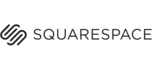 Comparateur creer un site : logo Squarespace