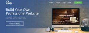 Créer un site avec Sitey