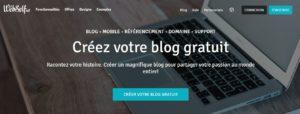 Créer un site avec Webself