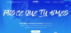 Créer un site avec Weebly