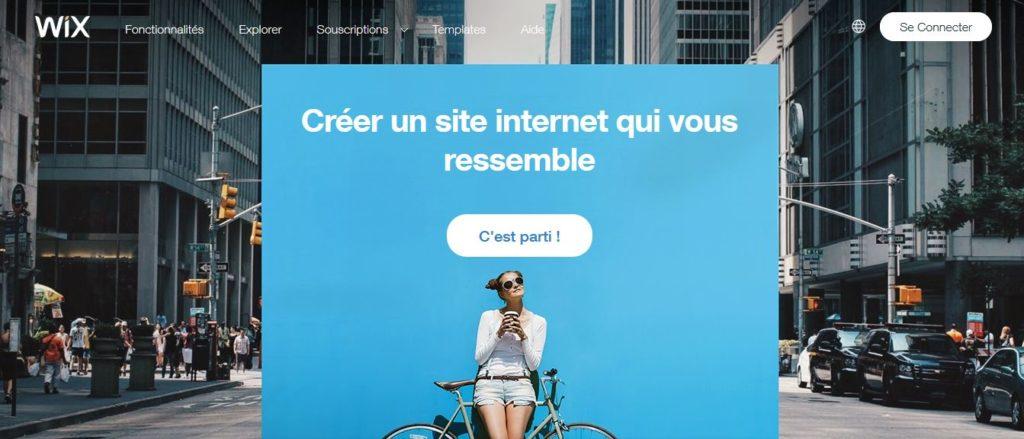 Créer un site Internet qui vous ressemble avec Wix